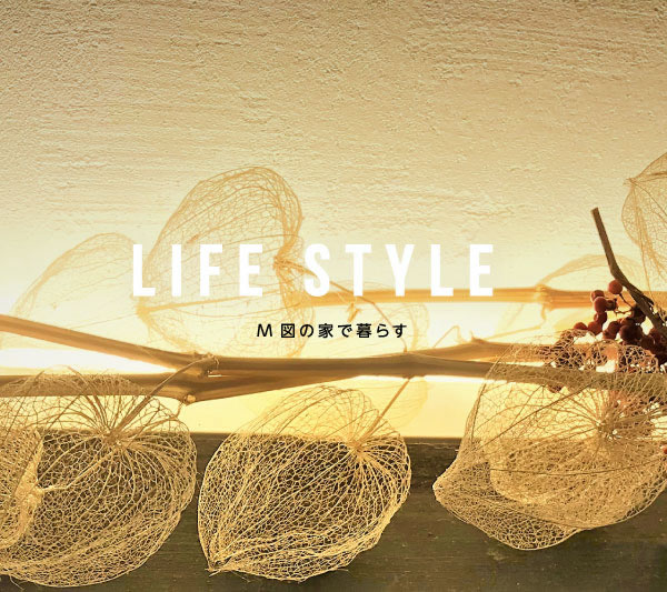 LIFE STYLE M図の家で暮らす